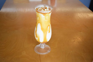 irish cream shake caramel, irish cream