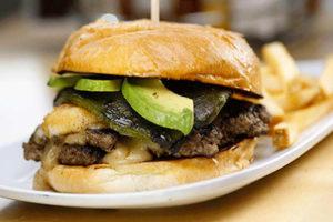 Ne Mexico Relleno burger