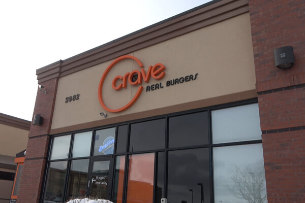 Crave building in Castle Rock, CO